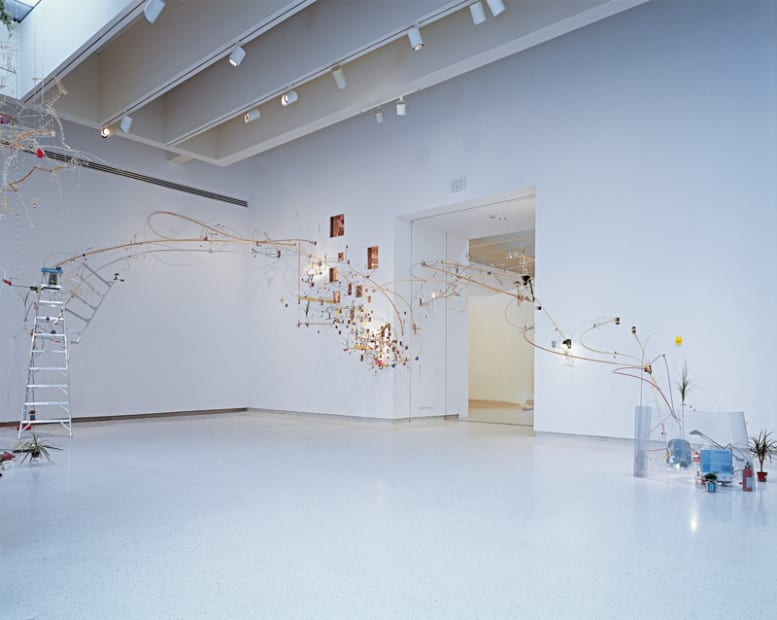 Image of Sarah Sze's seamless installation at Carnegie