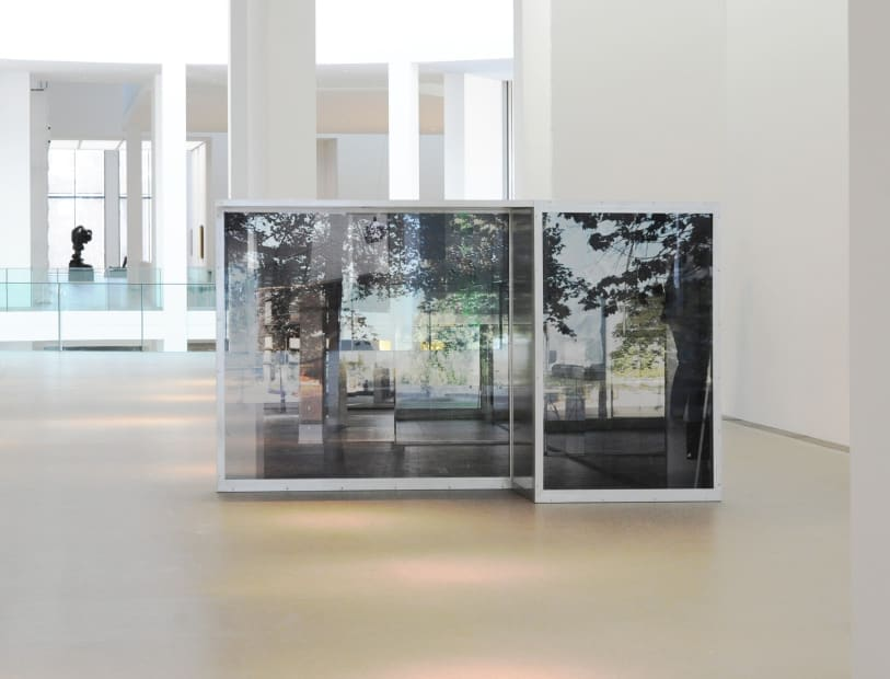 Image of Installation view of Sabine Hornig Screen structure