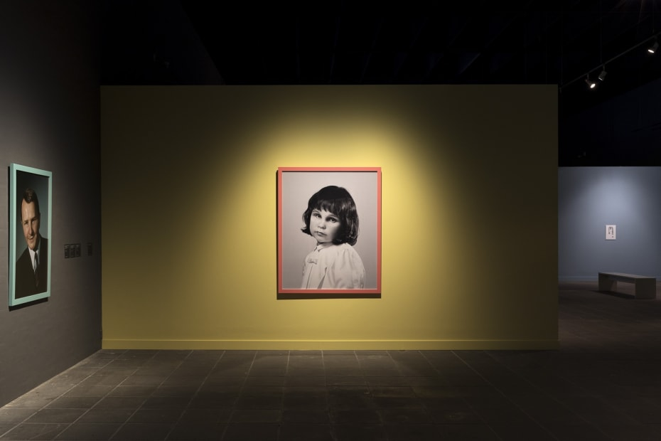 image of Gillian Wearing photographs, me as 3 years old