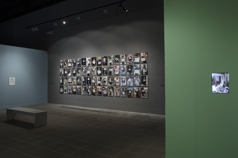 image of Gillian Wearing photographs, family portraits