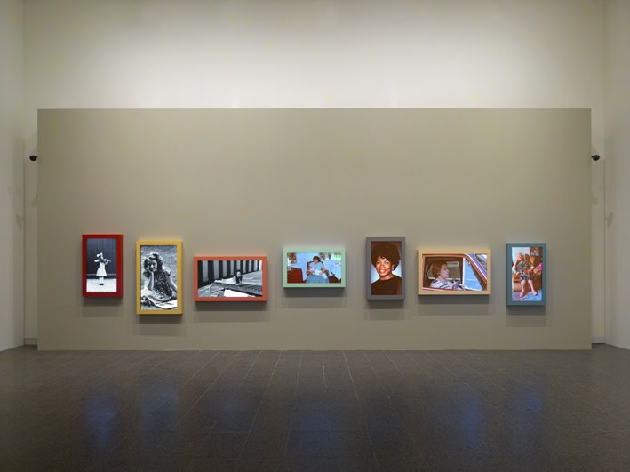 image of Gillian Wearing moving pictures, video still
