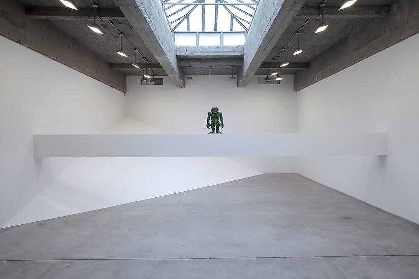 Haim Steinbach installation view of creature