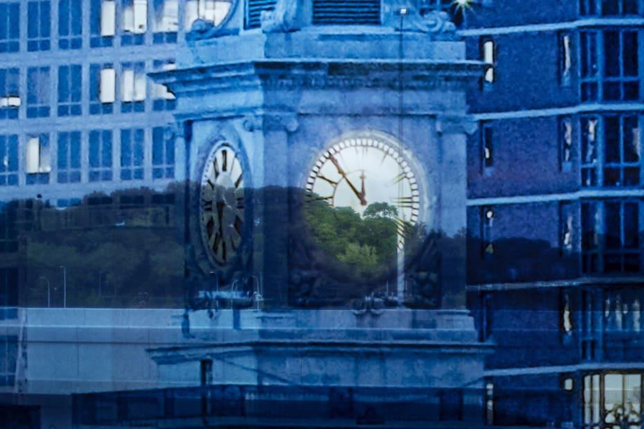 image of Sabine Hornig transparent window coverings at la guardia