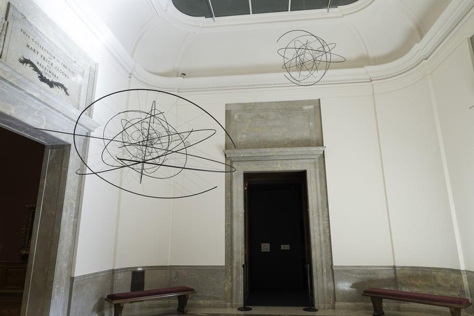 image of Saraceno zonal sculptures
