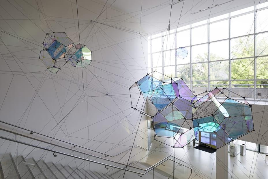 image of Saraceno cloud cities installation
