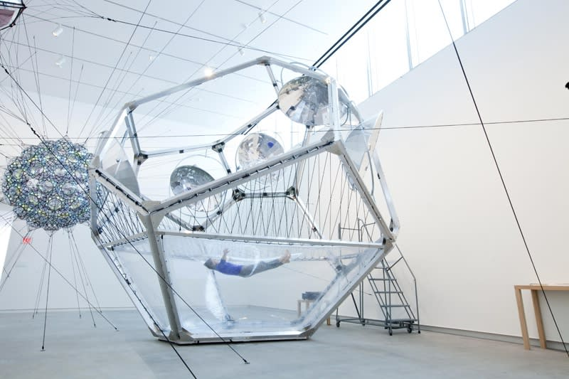 image of cloud cities sculptural installation at Kemper art museum