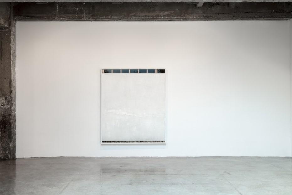 Uta barth installation view of wall series