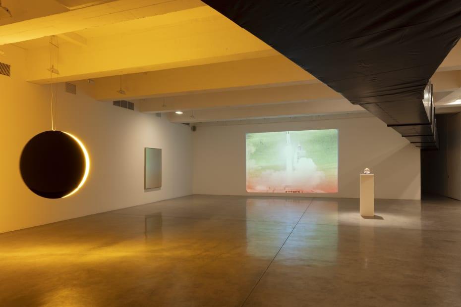 Installation image of Living in a Lightbulb.