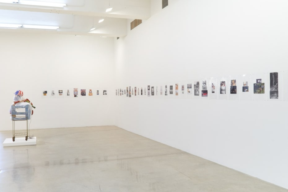 Installation view of Objects Food Rooms.