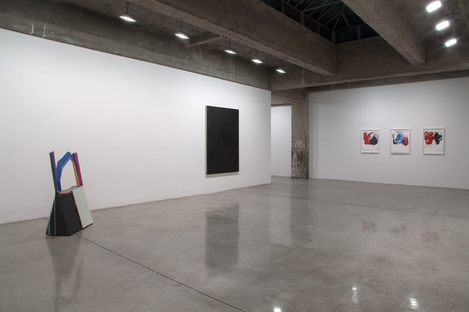 Installation view of Between The Lines.