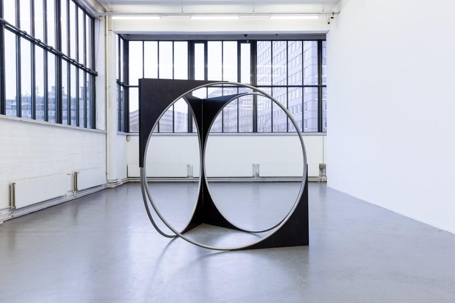 image of large circular sculpture