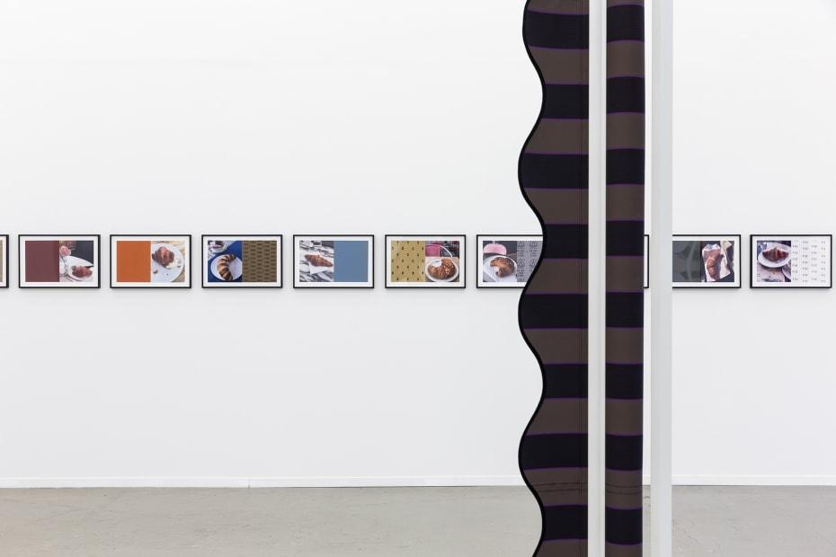 image of Wermers sculptures installation view