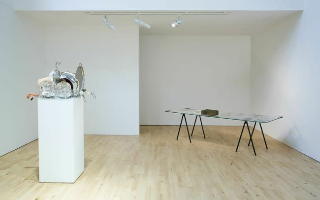 image of a table with objects