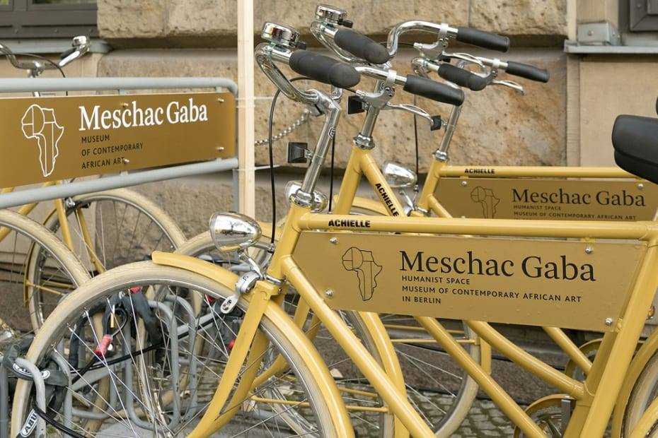 bikes outside of museum
