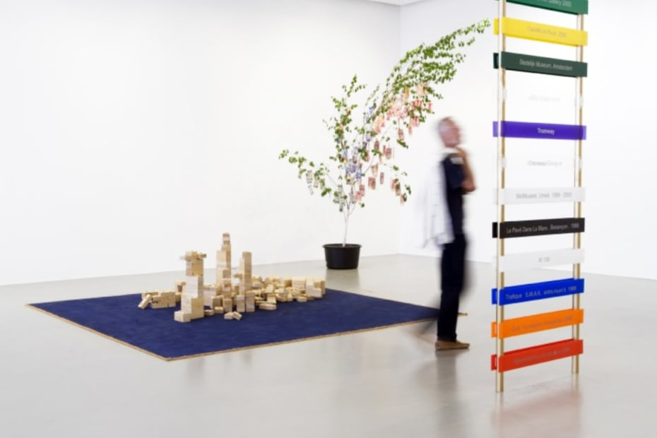 installation image of Meschac Gaba works at Tate