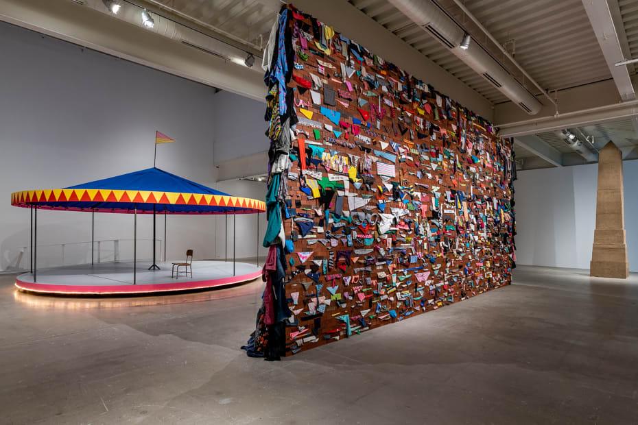 image of Karyn Olivier wall installation