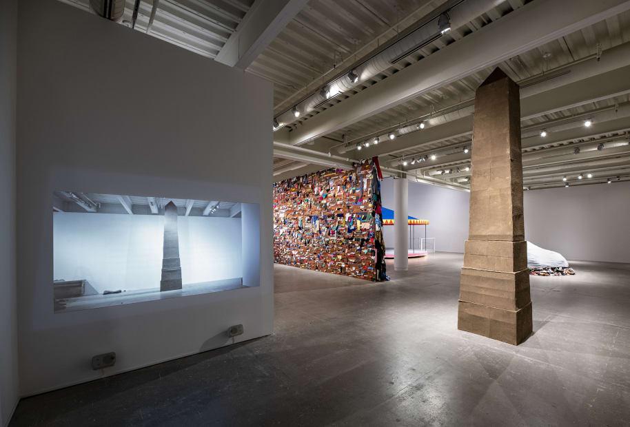 image of Karyn Olivier installation at ICA Philadelphia