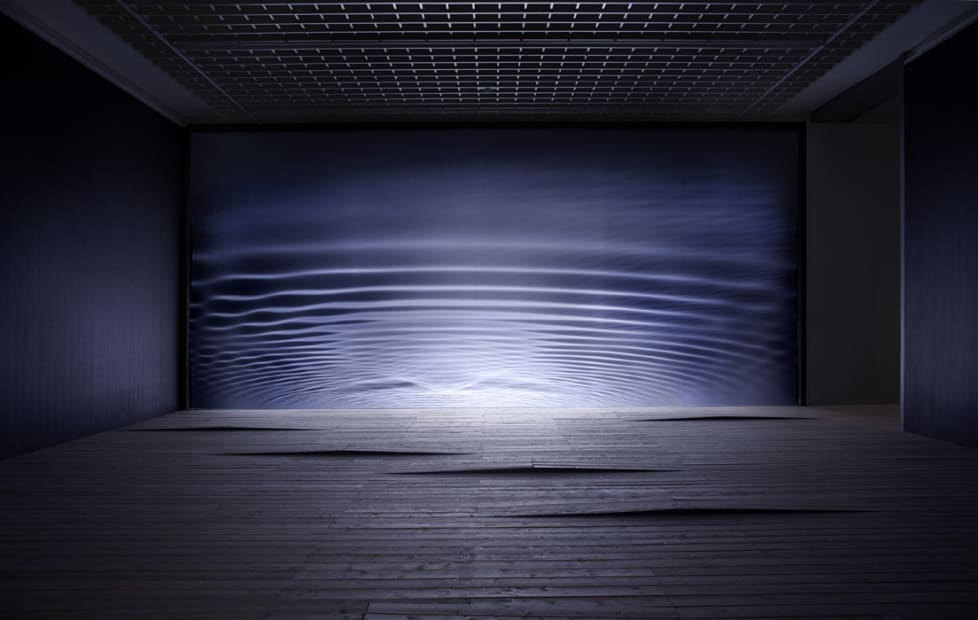 image of wave shadows