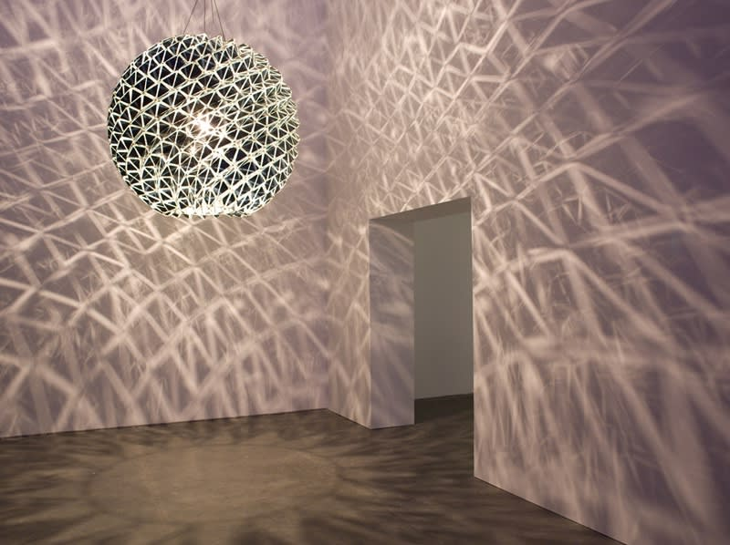 image of sculptural light with shadows