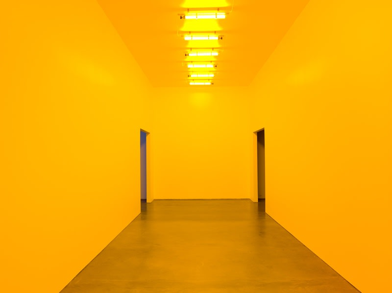 image of yellow room