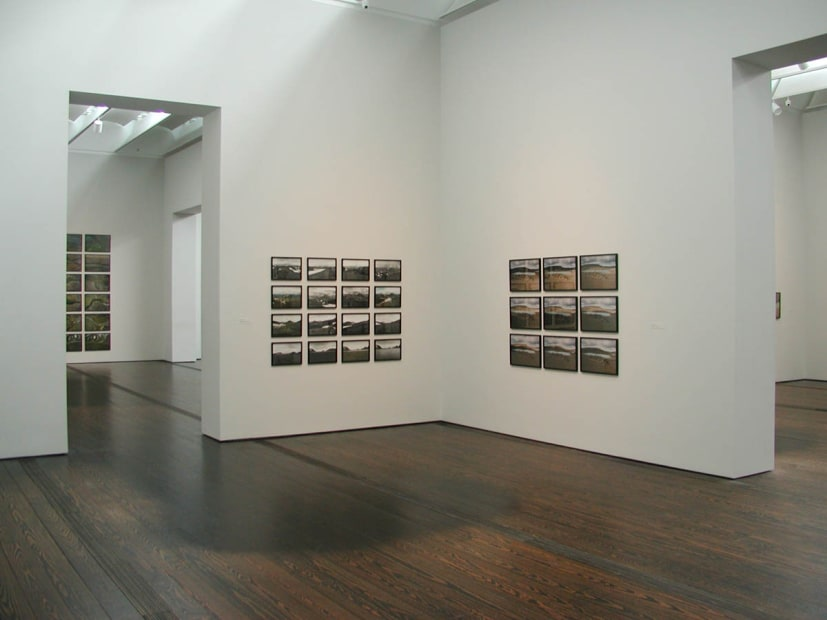 image of Eliasson photographs of Iceland in grid