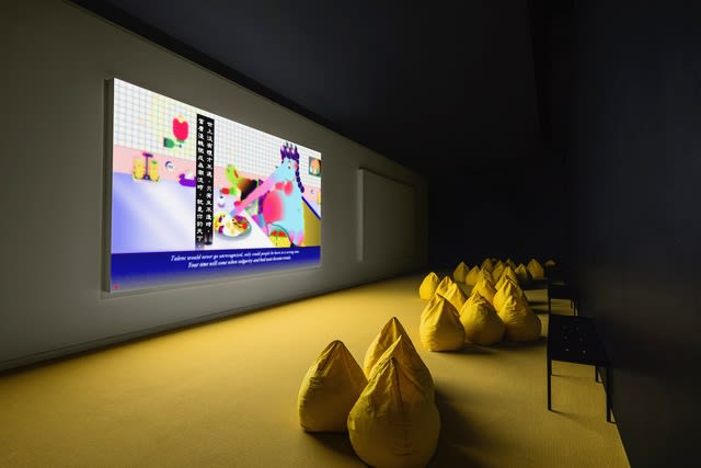 image of Fables 1 & Fables 2 install at SCAD