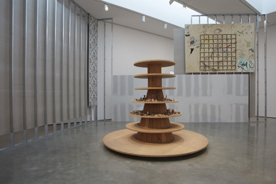 Image of Steinbach installation at Bard