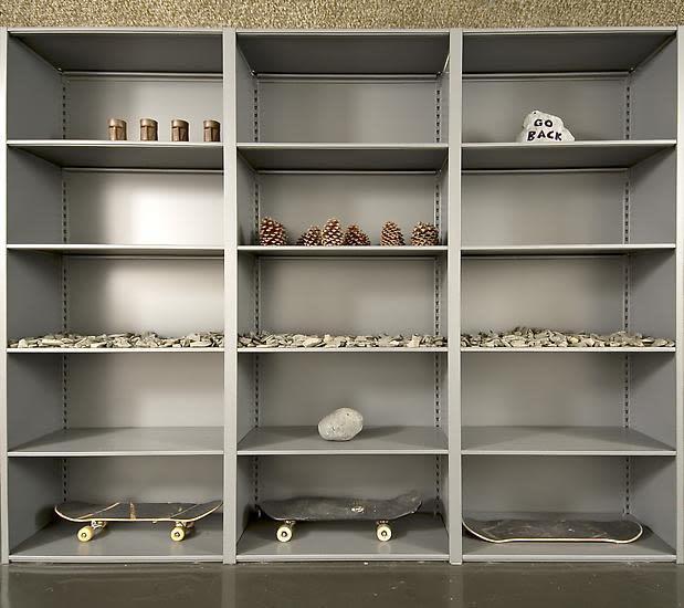 image of Haim Steinbach shelf