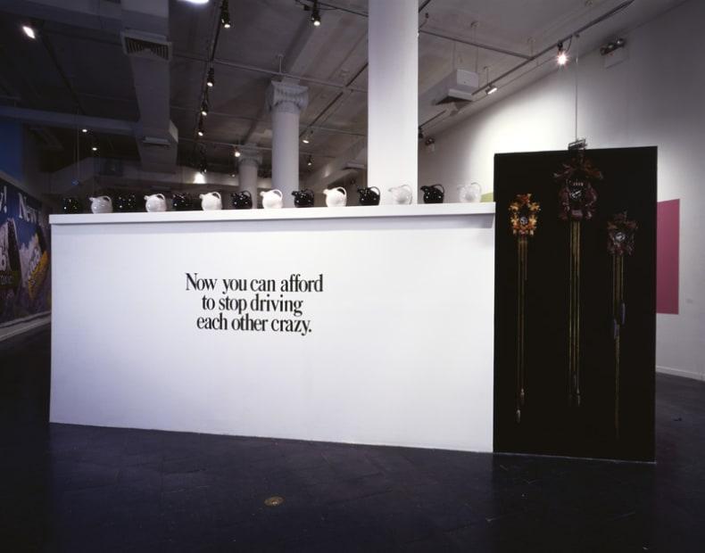 Haim Steinbach display at New Museum