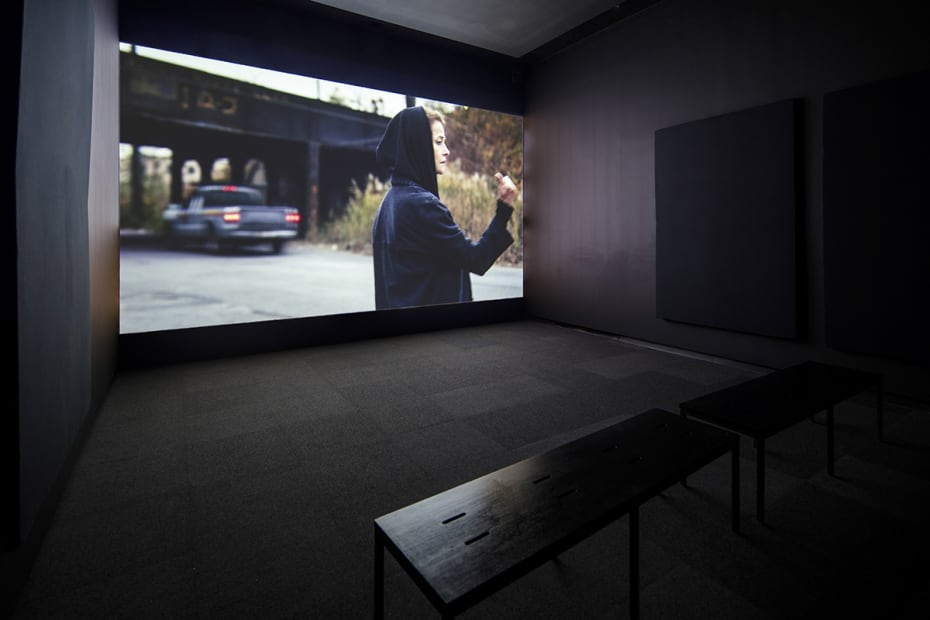 image of Kurant video installation at SCAD