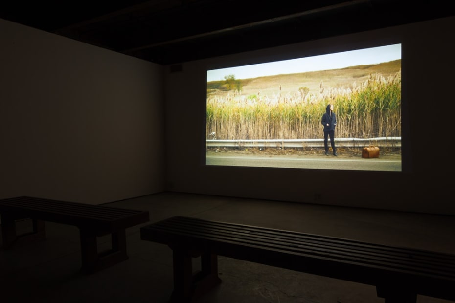 image of Kurant video installation at SculptureCenter