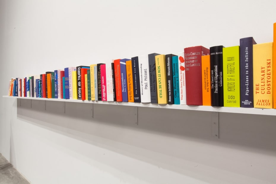 image of Kurant book installation at SculptureCenter