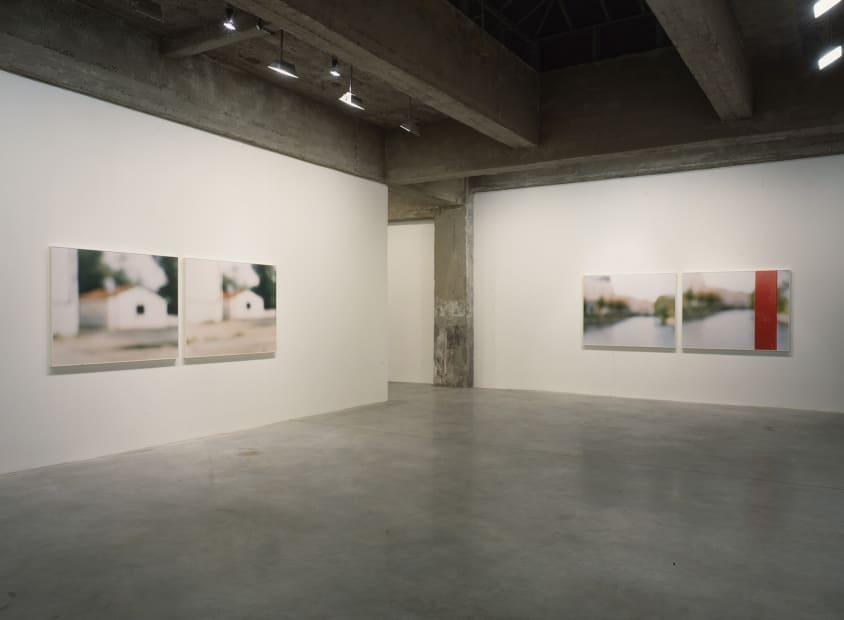 Uta Barth 1998 install view