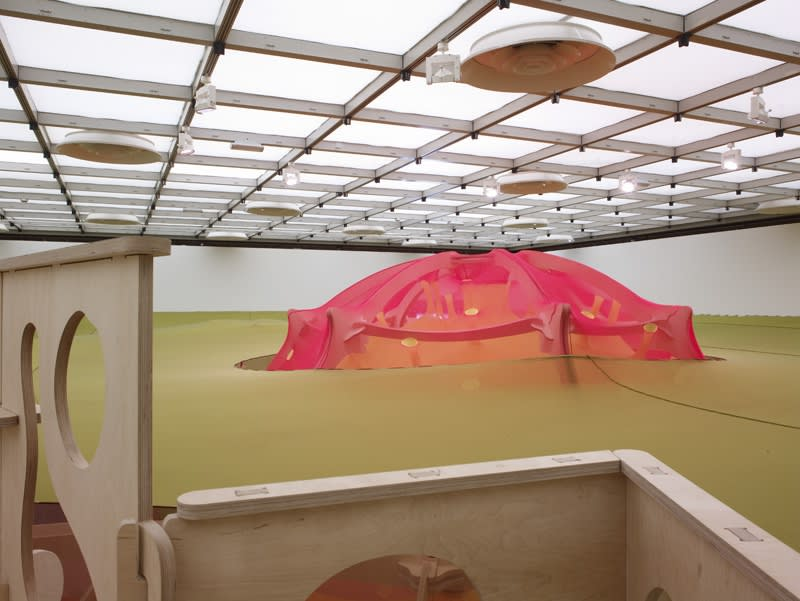 image of inside Ernesto Neto installation