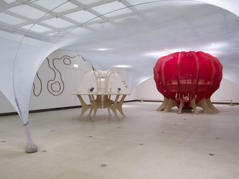 image of Ernesto Neto installation