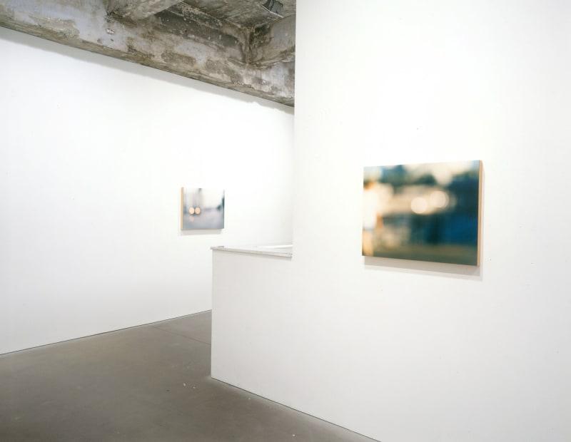 Uta Barth field series install view