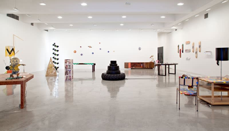 Installation view of Multiple Pleasures: Functional Objects in Contemporary Art.