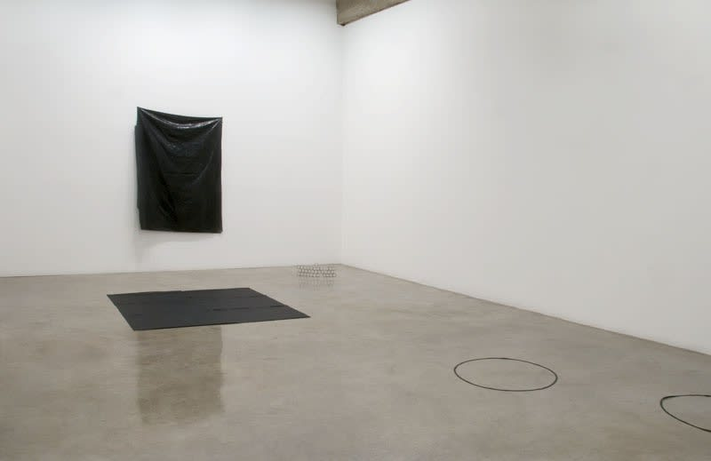 Installation images of IAN KIAER's exhibition.
