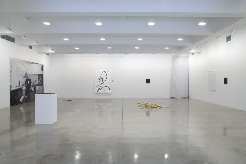 Installation view of RYAN GANDER: CHAMPIONED BY RIGOUR.