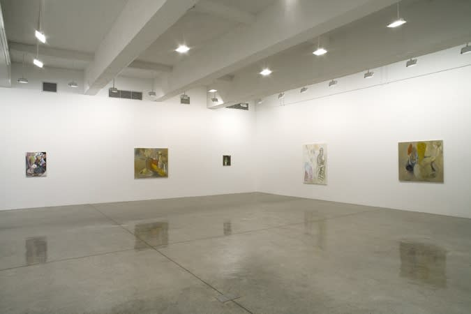 Installation view of Neal Tait's The Dressmaker Who Lived on the Outskirts.