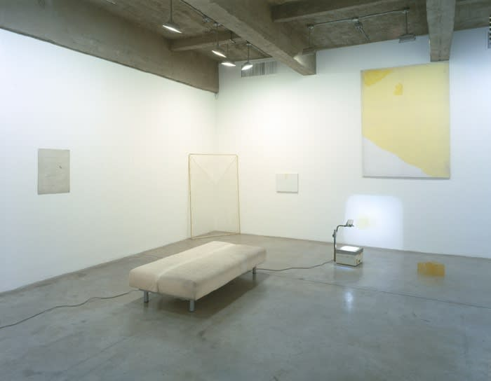 Installation view of IAN KIAER: THE GREY CLOTH.