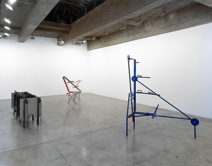 Installation view of JASON MEADOWS: LIGHT YEAR / CLEAR SPOT.