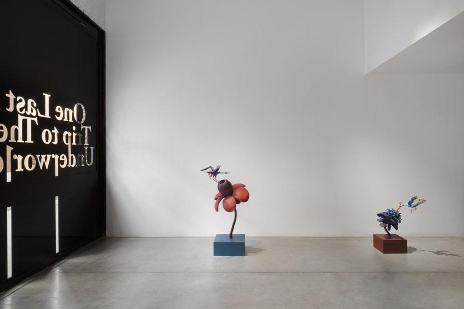 Djurberg and Berg sculptures install