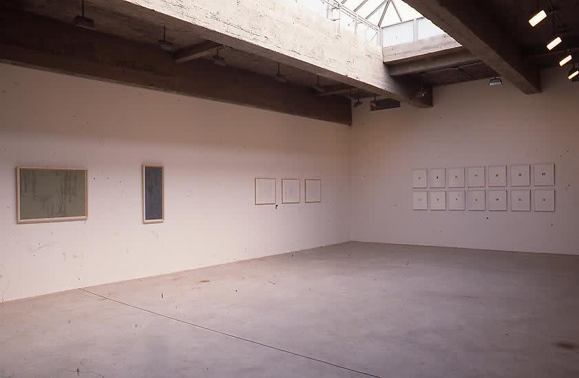 Installation view of DRAWINGS.