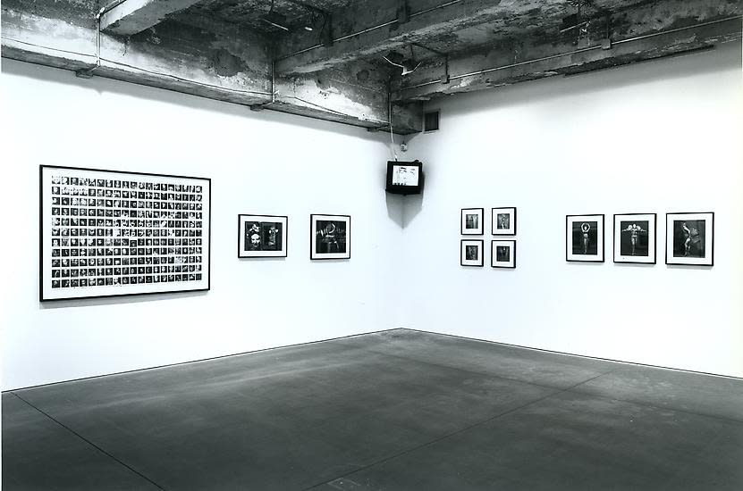Installation view of LEIGH BOWERY: A TRIBUTE EXHIBITION.