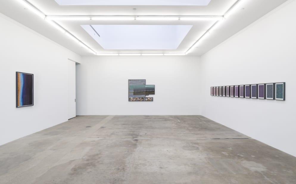 installation view of Liu Shiyuan at TBG LA