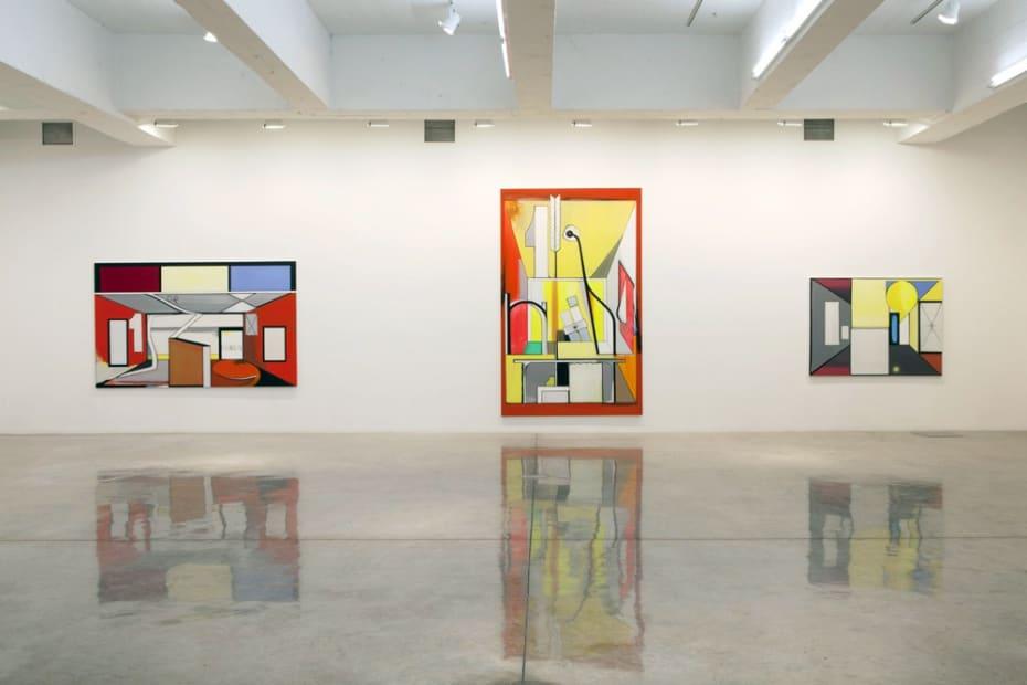Thomas Scheibitz: Studio Imaginaire gallery view