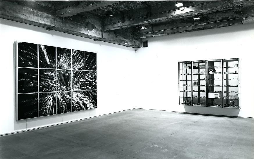 Nature Morte black and white install image
