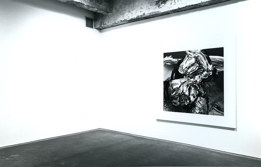 marcus harvey black and white install photo