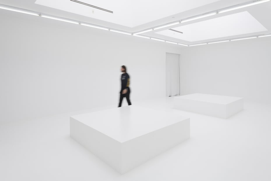 "Jonsi ""White out"" exhibition installation view"